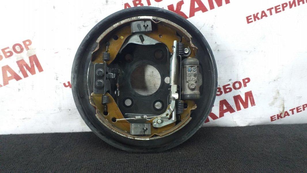 Щит тормозной Honda Fit GD1 L13A задний правый