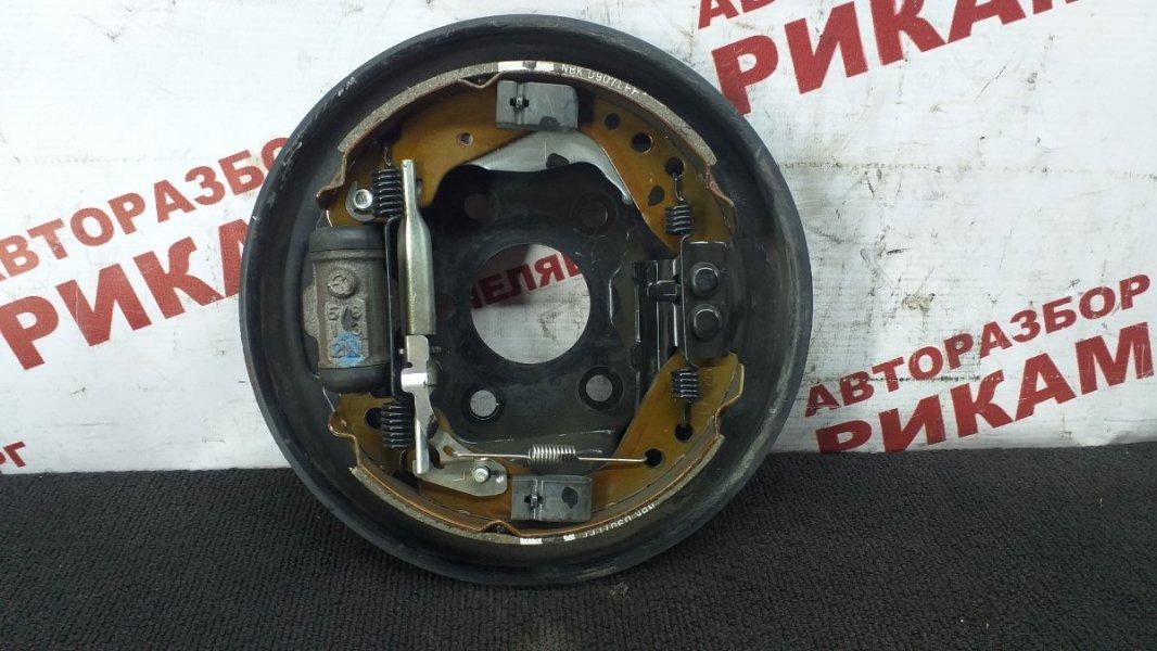 Щит тормозной Honda Fit GD1 L13A 2007 задний левый