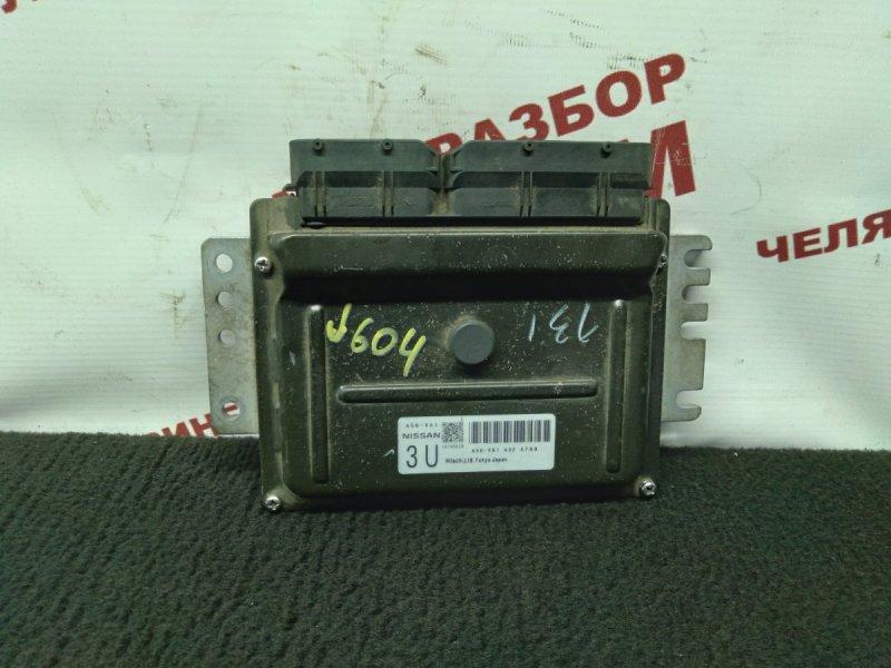 Блок управления Nissan Wingroad WFY11 QG15DE 2004