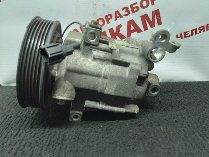 Компрессор кондиционера Nissan Wingroad WFY11 QG15DE 2004