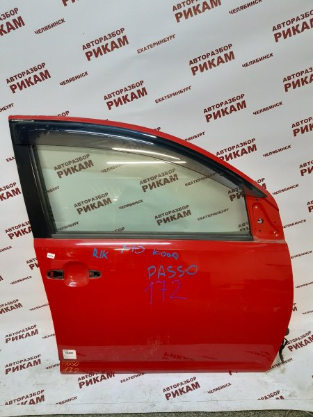 Дверь Toyota Passo KGC10 передняя правая