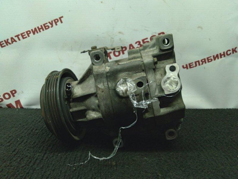 Компрессор кондиционера Toyota Funcargo NCP20 2NZ-FE 2001