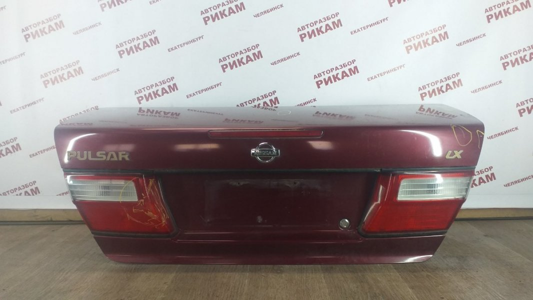 Крышка багажника Nissan Pulsar N15 GA16DE 1998 задняя