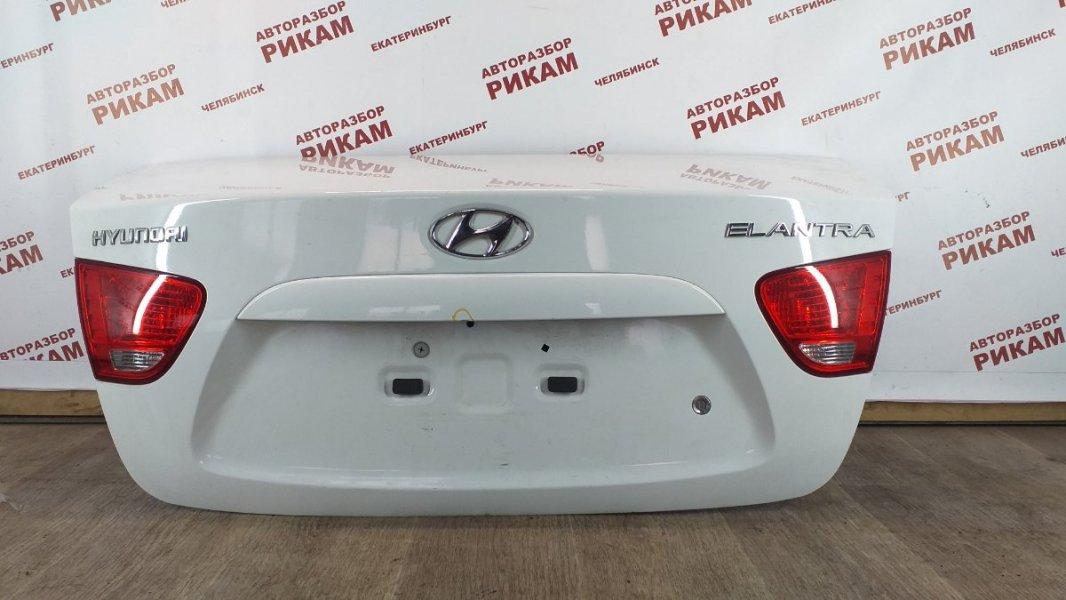 Крышка багажника Hyundai Elantra HD G4GC 2007 задняя