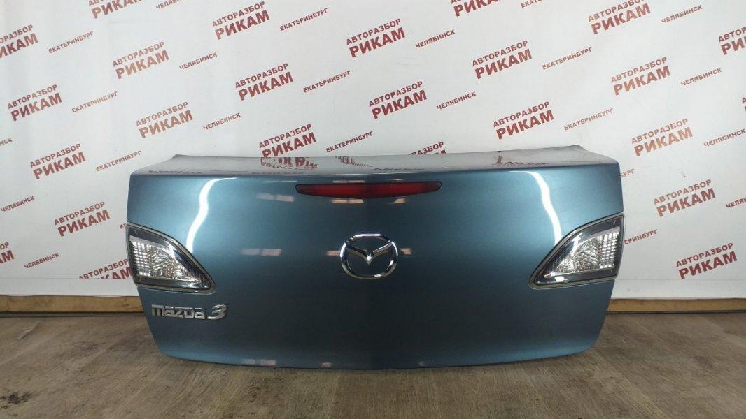 Крышка багажника Mazda Mazda3 BL LF-VE 2010