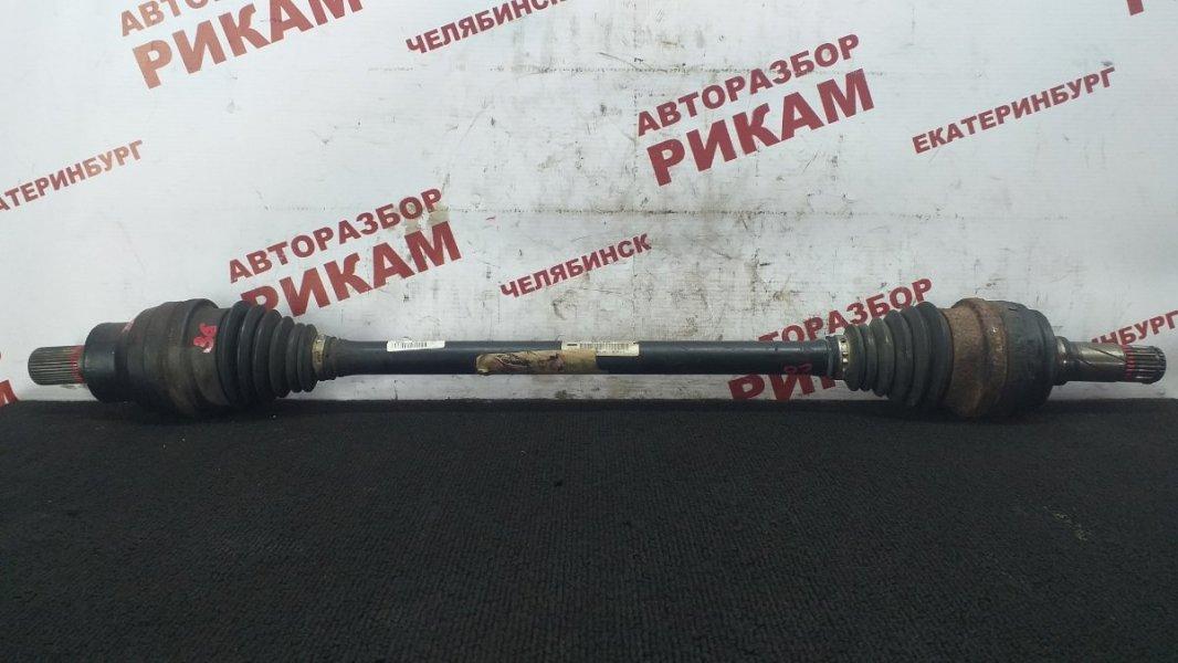 Привод Volvo Xc70 SZ58 B5244T3 2002 задний правый