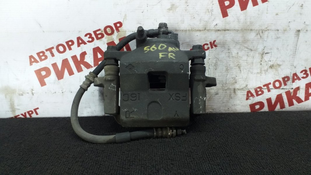 Суппорт тормозной Mazda 323 BJ ZM-DE 2001 передний правый