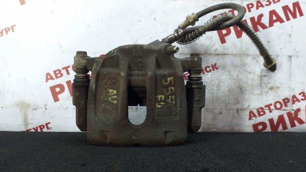 Суппорт тормозной Chery Tiggo T11 DB SQR484F 2011 передний левый