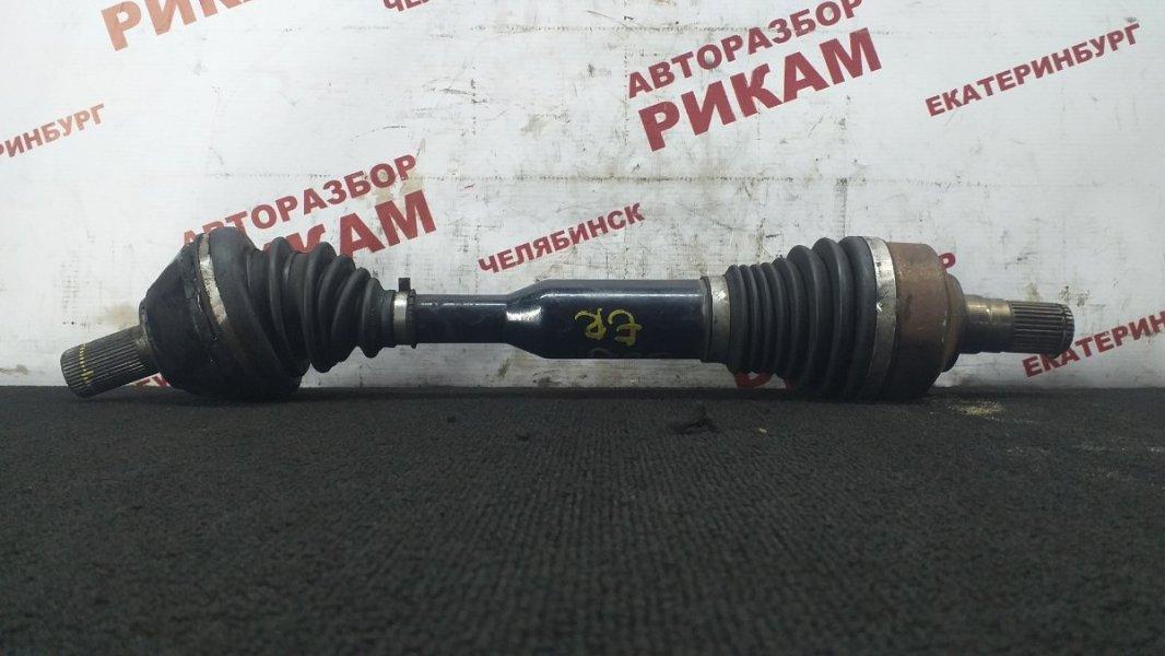 Привод Volvo Xc60 DZ70 D5244T10 2011 передний левый