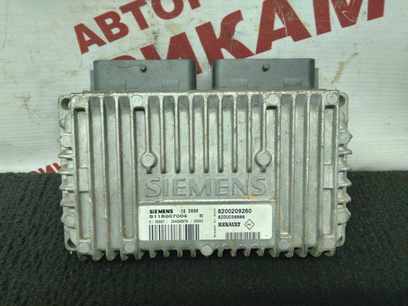 Блок управления Renault Scenic JA13 F4R747 2003