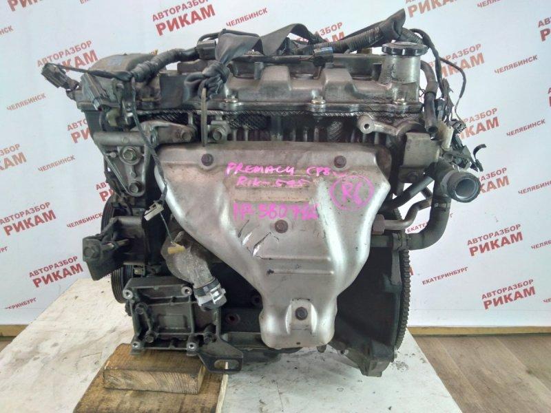 Двигатель Mazda Premacy CP8W FP-DE 1999