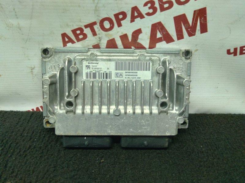 Блок управления Peugeot 207 WC EP6C 2012