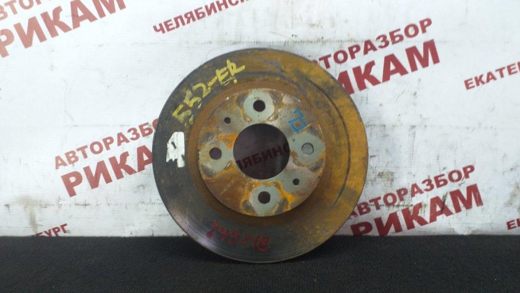 Диск тормозной Nissan Pulsar EN15 GA16DE 1998 передний