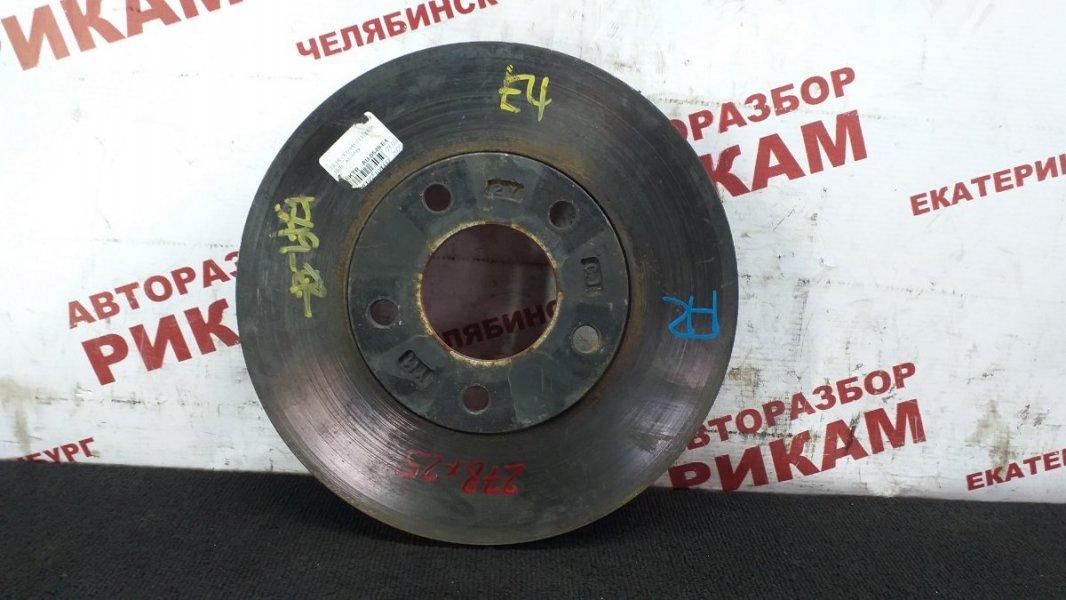 Диск тормозной Mazda Mazda3 BL LF-VE 2010 передний