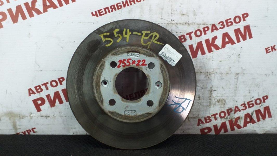 Диск тормозной Kia Rio JB G4ED 2006 передний