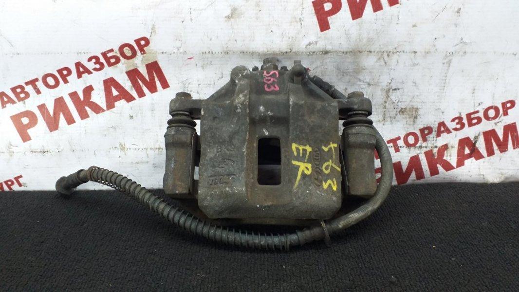 Суппорт тормозной Kia Rio JB G4ED 2007 передний левый