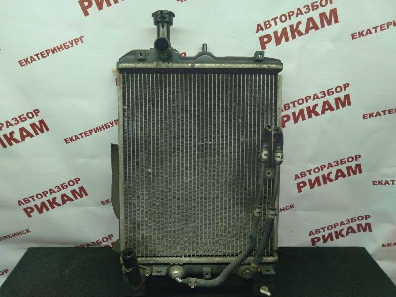 Радиатор охлаждения Mitsubishi Pajero Mini H58A