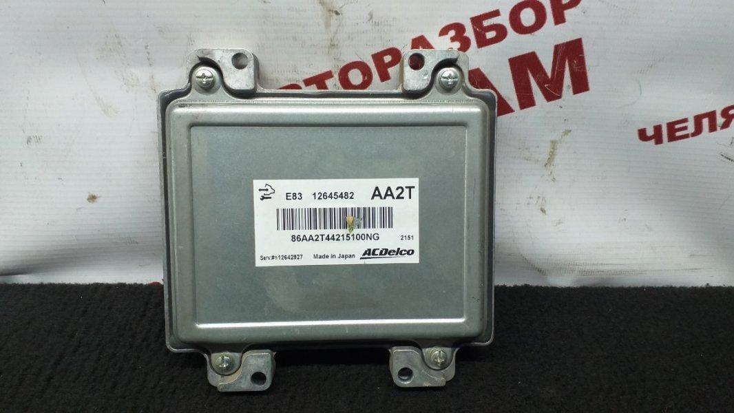 Блок управления Chevrolet Aveo T300 F16D4 2012