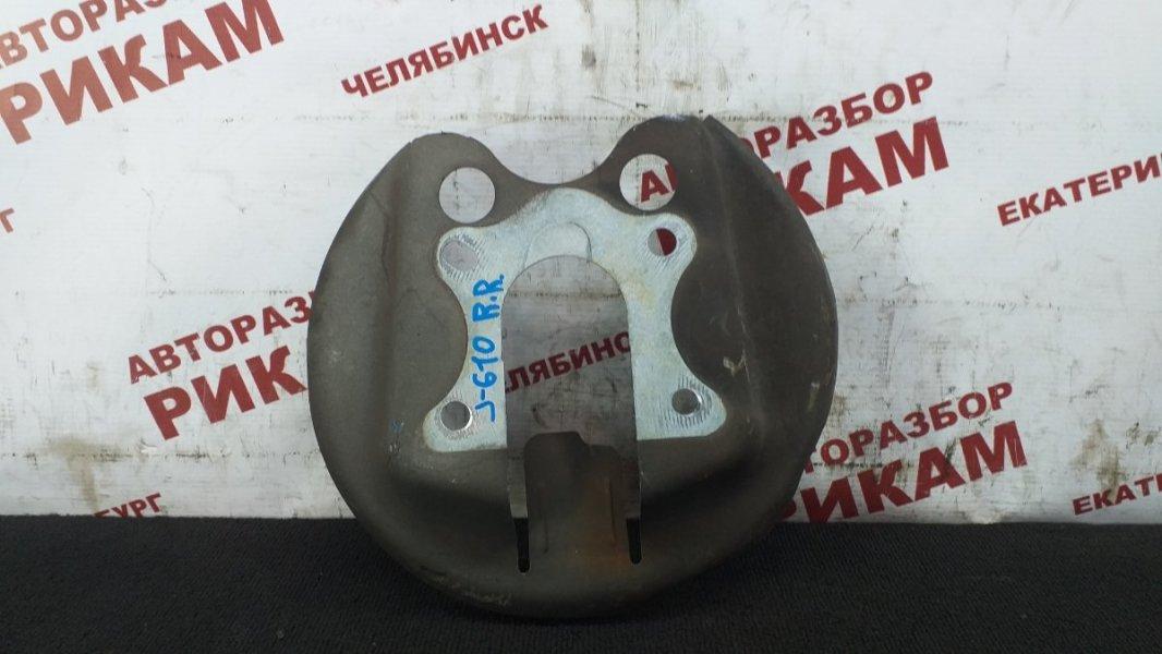 Щит тормозной Peugeot 308 4A EP6 2010 задний правый