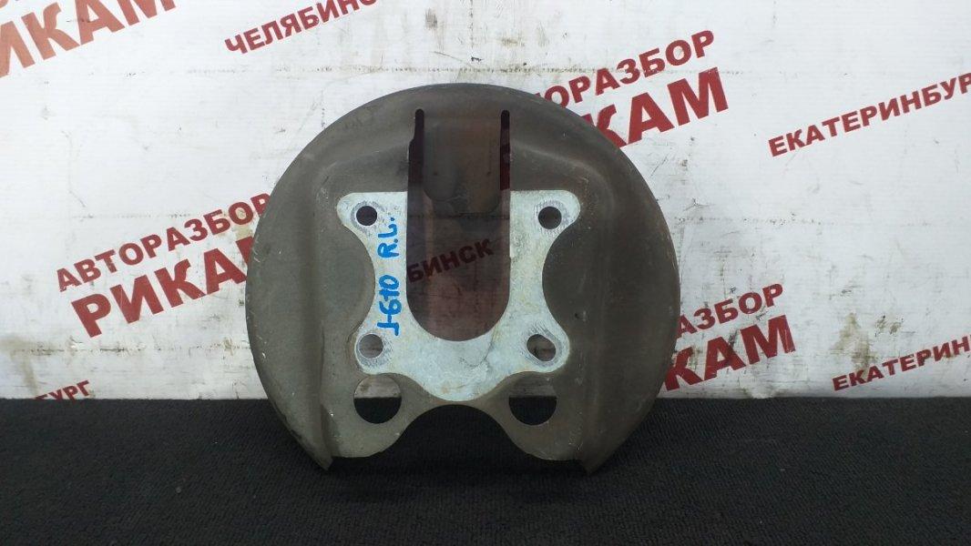 Щит тормозной Peugeot 308 4A EP6 2010 задний левый