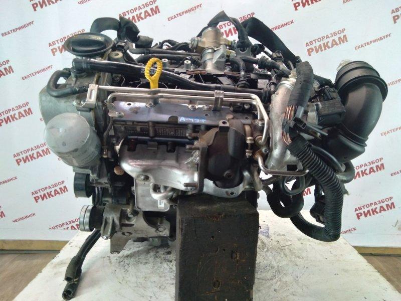 Двигатель Skoda Rapid NH1 CAX 2015