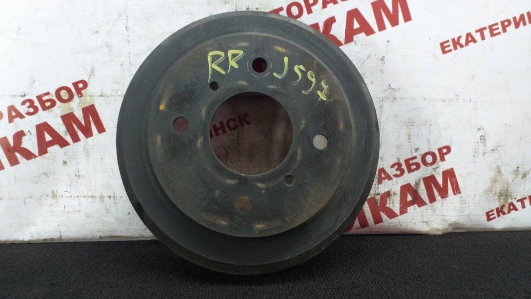 Барабан тормозной Nissan Bluebird Sylphy FG10 QG15DE 2001 задний правый