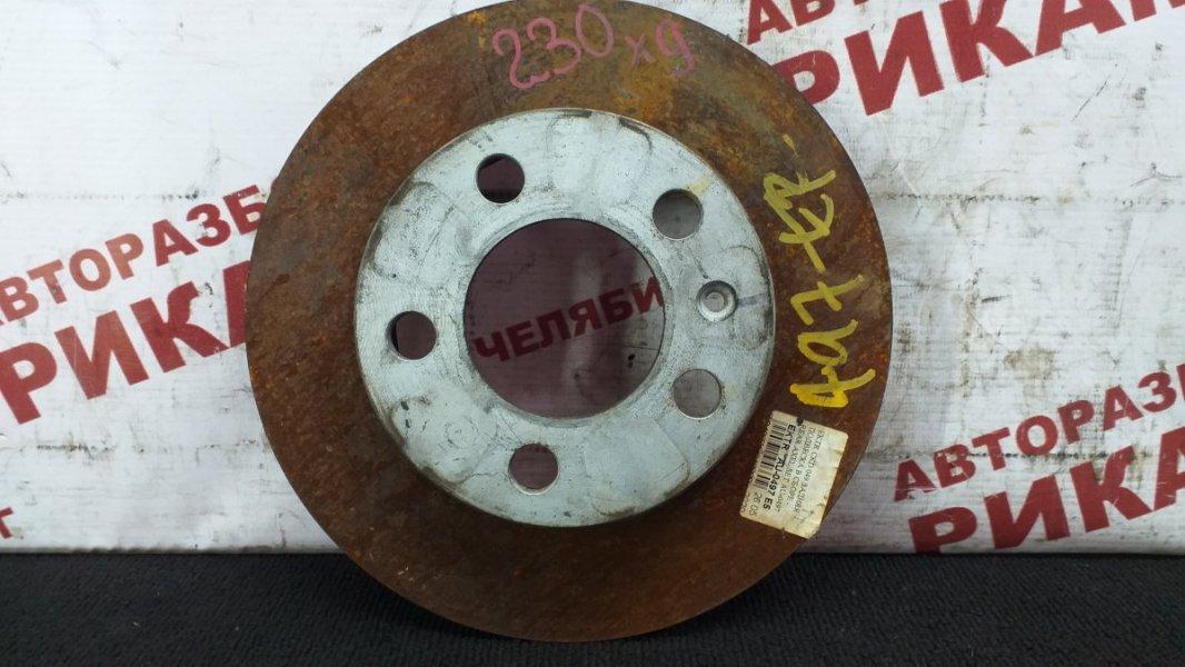 Диск тормозной Skoda Rapid NH1 CAX 2015 задний правый