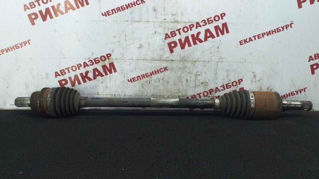Привод Volvo Xc60 DZ70 D5244T10 2011 задний правый