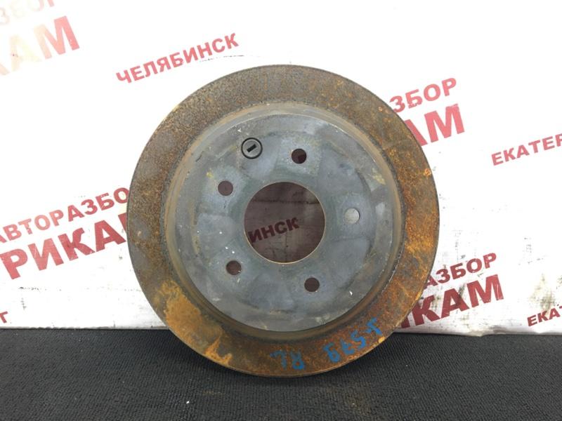 Диск тормозной Nissan X-Trail T30 QR20DE 2005 задний левый