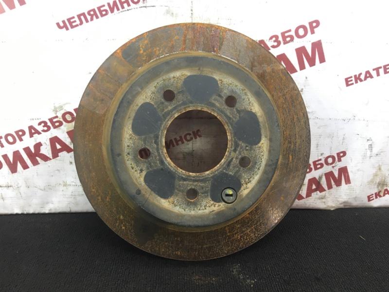 Диск тормозной Nissan Teana J32 VQ25DE 2008 задний правый