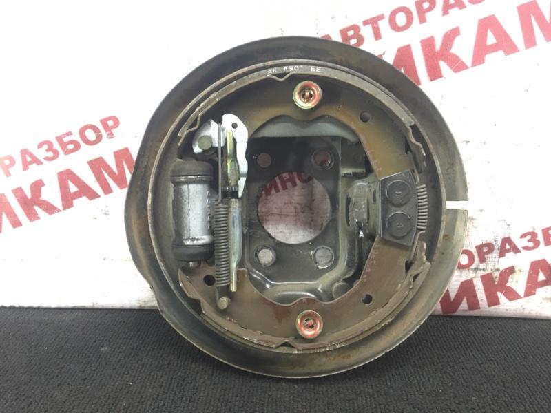 Щит тормозной Nissan Pulsar N15 GA16DE 1998 задний левый