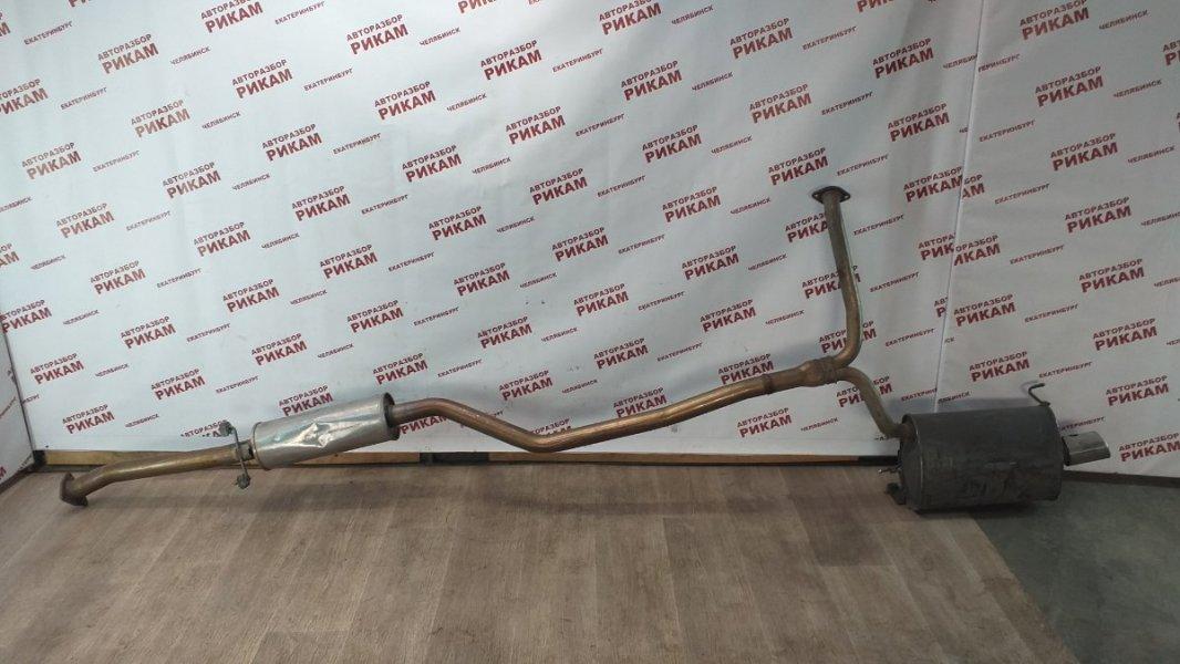 Глушитель Honda Accord CU2 K24Z3 2012