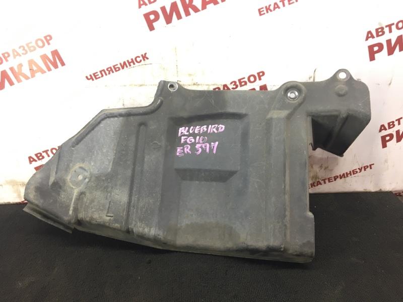 Защита двигателя Nissan Bluebird Sylphy FG10 QG15DE 2001 левая