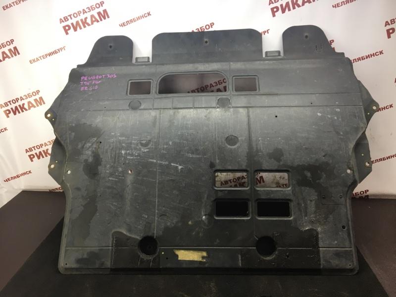Защита двигателя Peugeot 308 4A EP6 2010 передняя