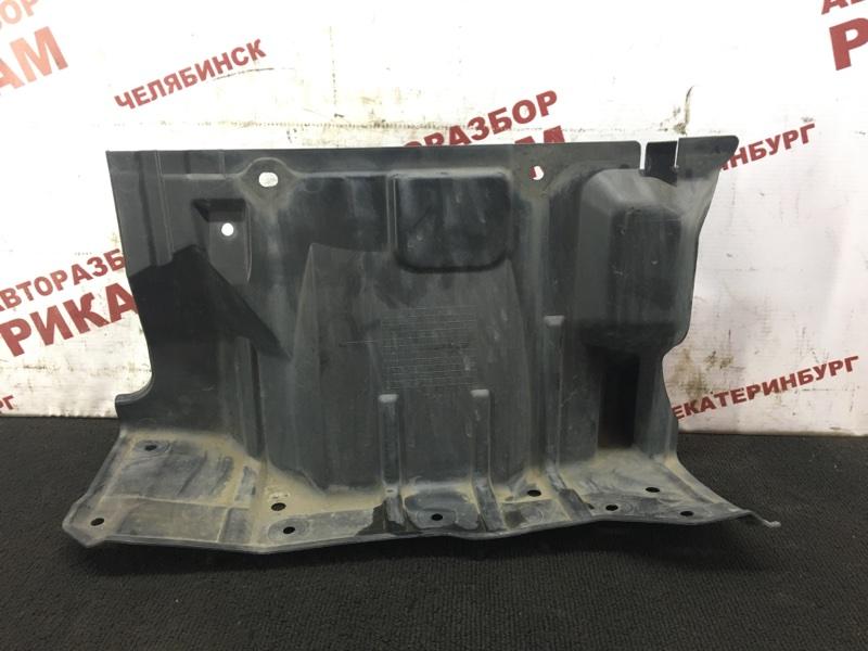 Защита кпп Mitsubishi Galant Fortis CY3W 4B10 2010 правая