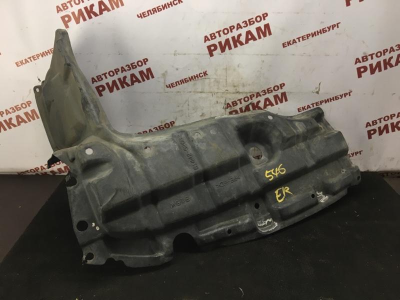 Защита двигателя Toyota Yaris NCP93 1NZ-FE 2011 передняя левая