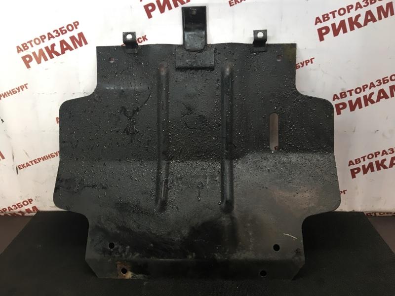 Защита двигателя Mitsubishi Pajero L146GW 6G72 1990
