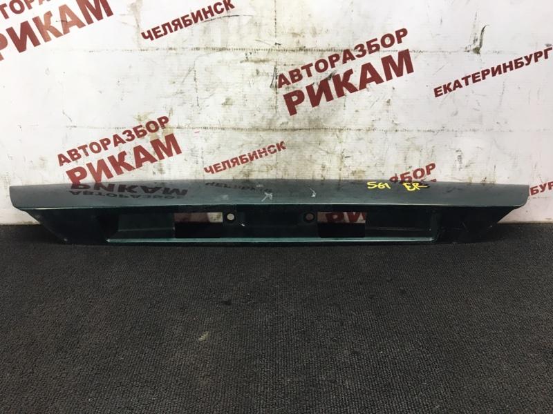 Накладка крышки багажника Mazda 626 GF FS-DE 2000 задняя