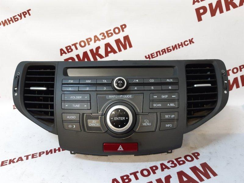 Магнитола Honda Accord CU2 K24Z3 2012