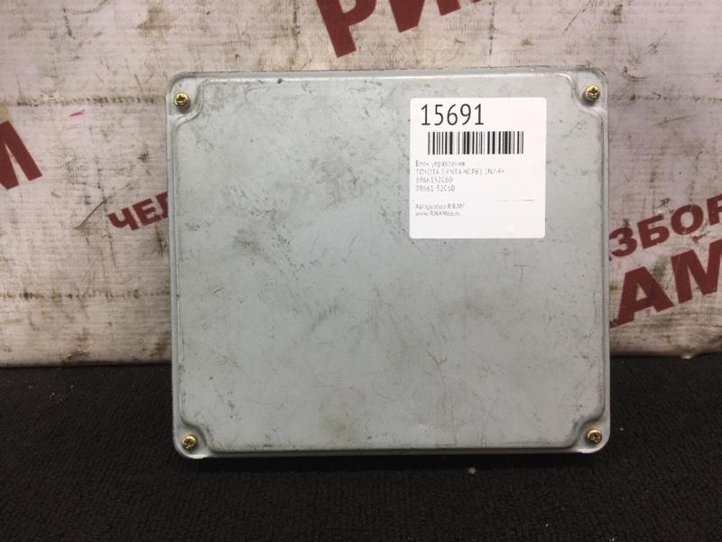 Блок управления Toyota Sienta NCP81 1NZ-FE