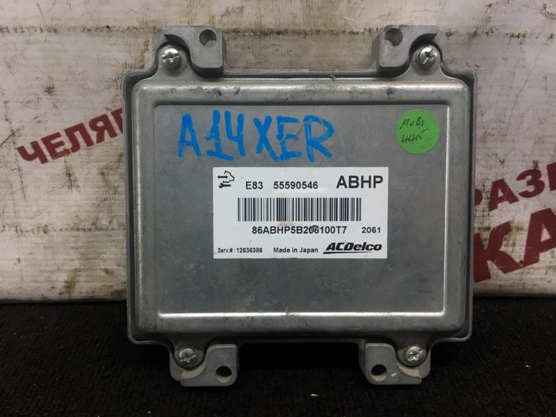 Блок управления Opel Corsa D L08 A14XER 2012