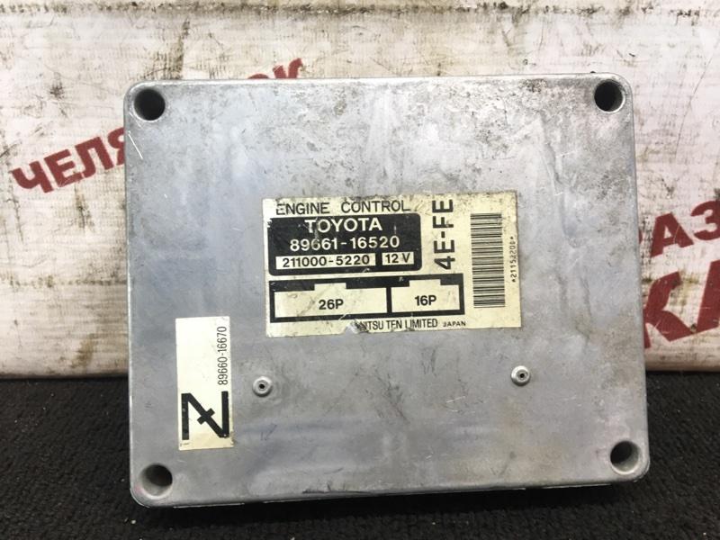 Блок управления Toyota Corsa EL51 4E-FE
