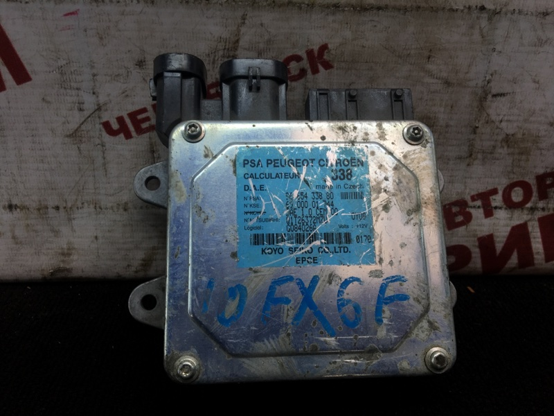 Блок управления Citroen C3 FUC TU5JP4