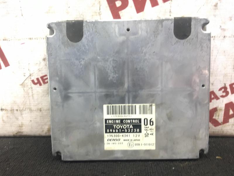 Блок управления Toyota Altezza GXE10 1G-FE