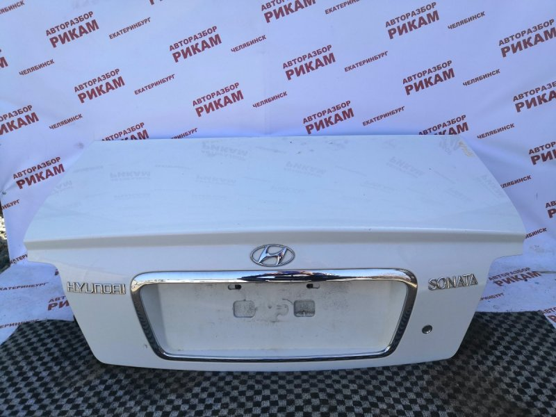 Крышка багажника Hyundai Sonata EF G4JS 2003 задняя