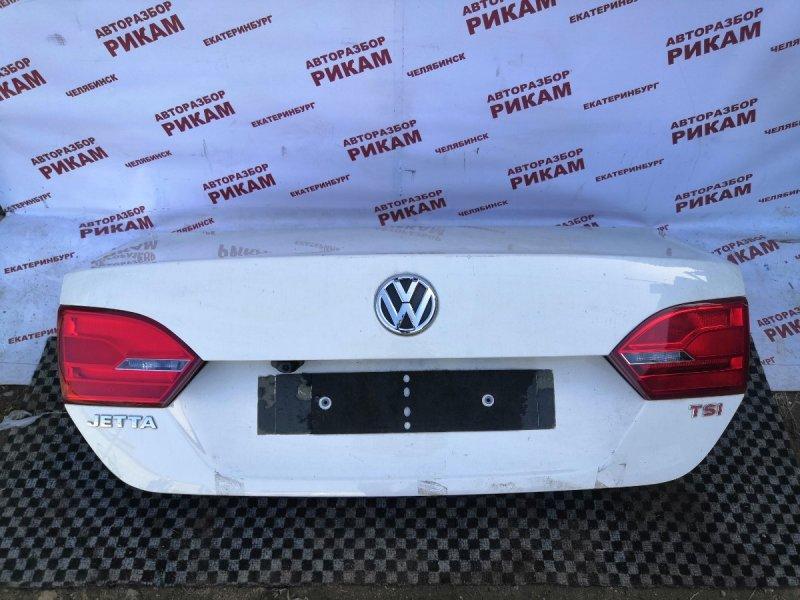 Крышка багажника Volkswagen Jetta 162 CAVD 2013 задняя