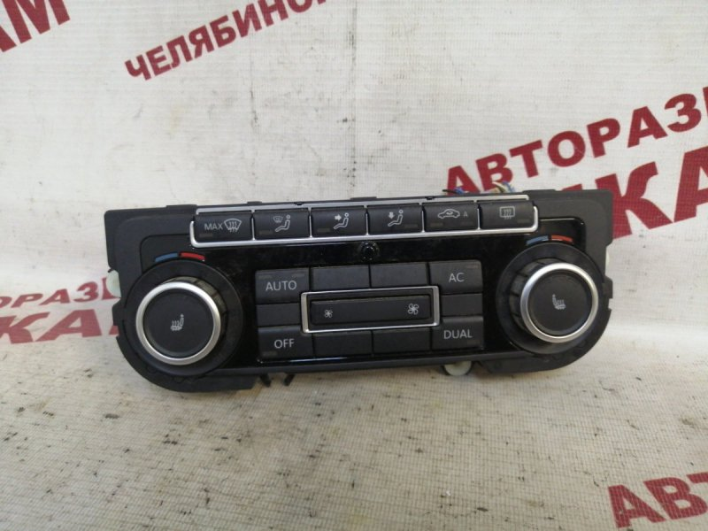 Блок климат-контроля Volkswagen Passat B6 3C2 CBBB 2010