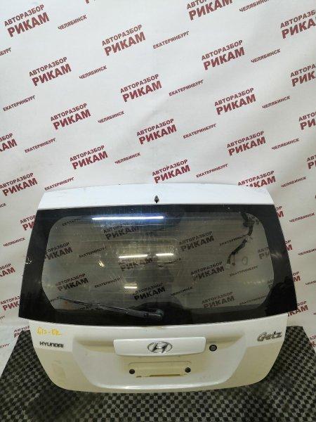 Дверь багажника Hyundai Getz TB G4EE 2010 задняя