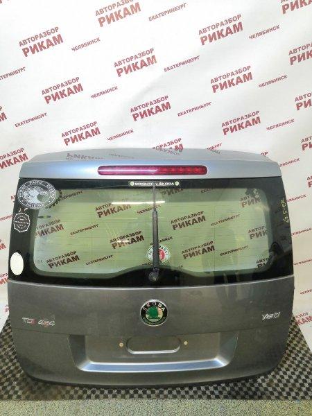 Дверь багажника Skoda Yeti 5L CFHC 2011 задняя