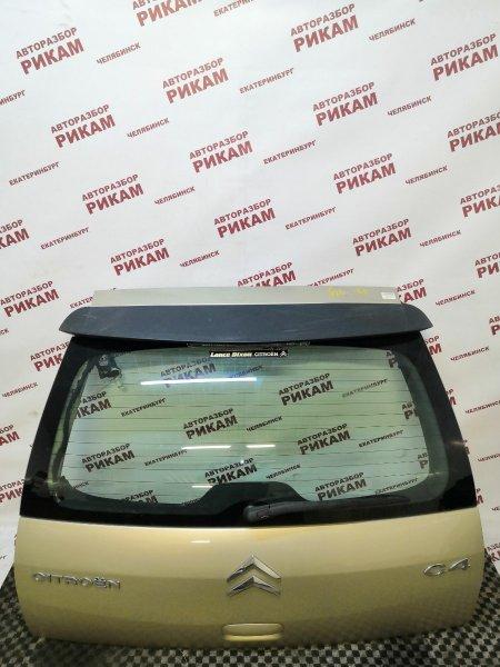Дверь багажника Citroen C4 LC EW10A 2007 задняя